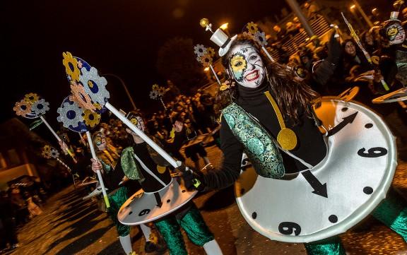 Més de mil persones, en 20 colles, participen al 36è Carnaval de Centelles