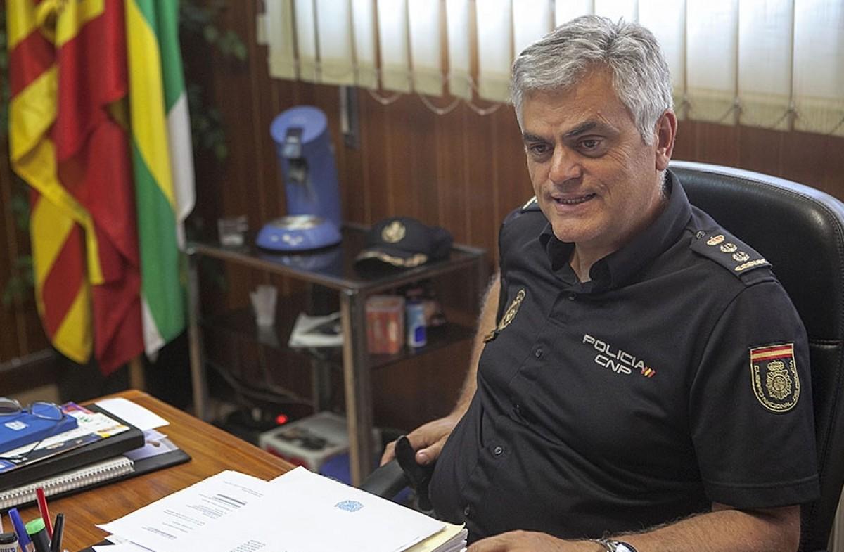 Juan Manuel Quintela, al seu despatx de Sabadell