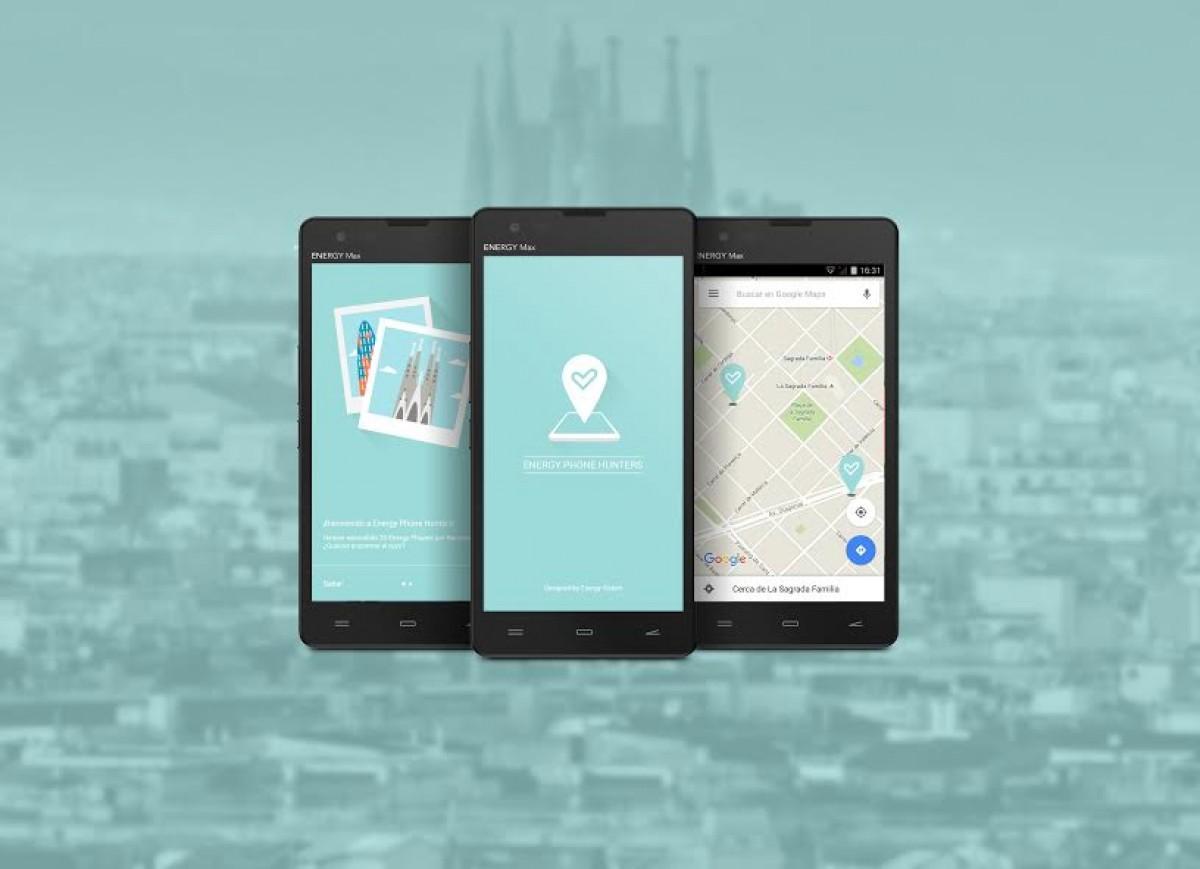Aplicació Energy Phone Hunters