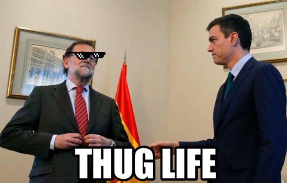 Mariano Rajoy i Pedro Sánchez, aquest divendres