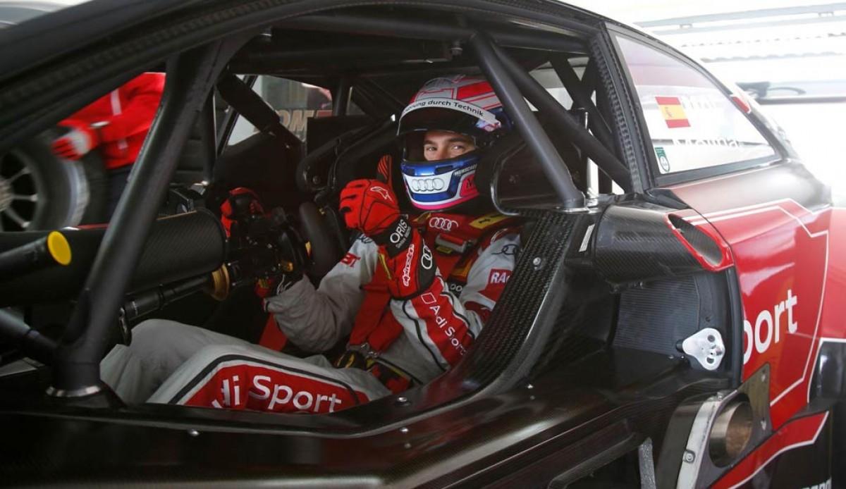 El pilot de Lloret en el seu Audi RS5