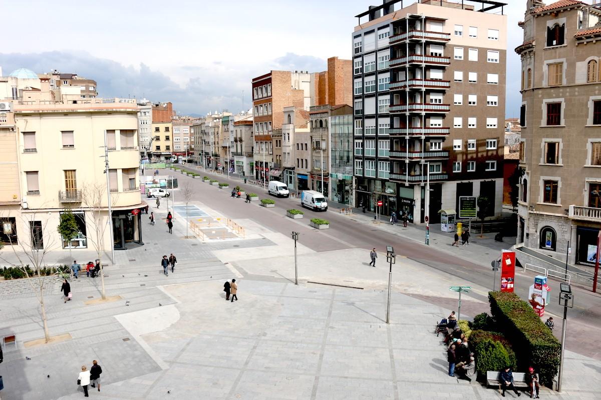 El Passeig de la Plaça Major, aquest dimarts