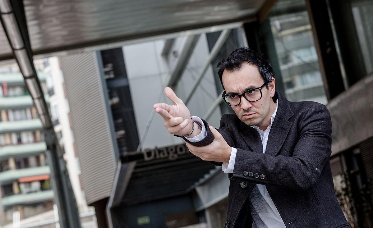 Jair Domínguez presenta «Perímetre», la seva tercera novel·la