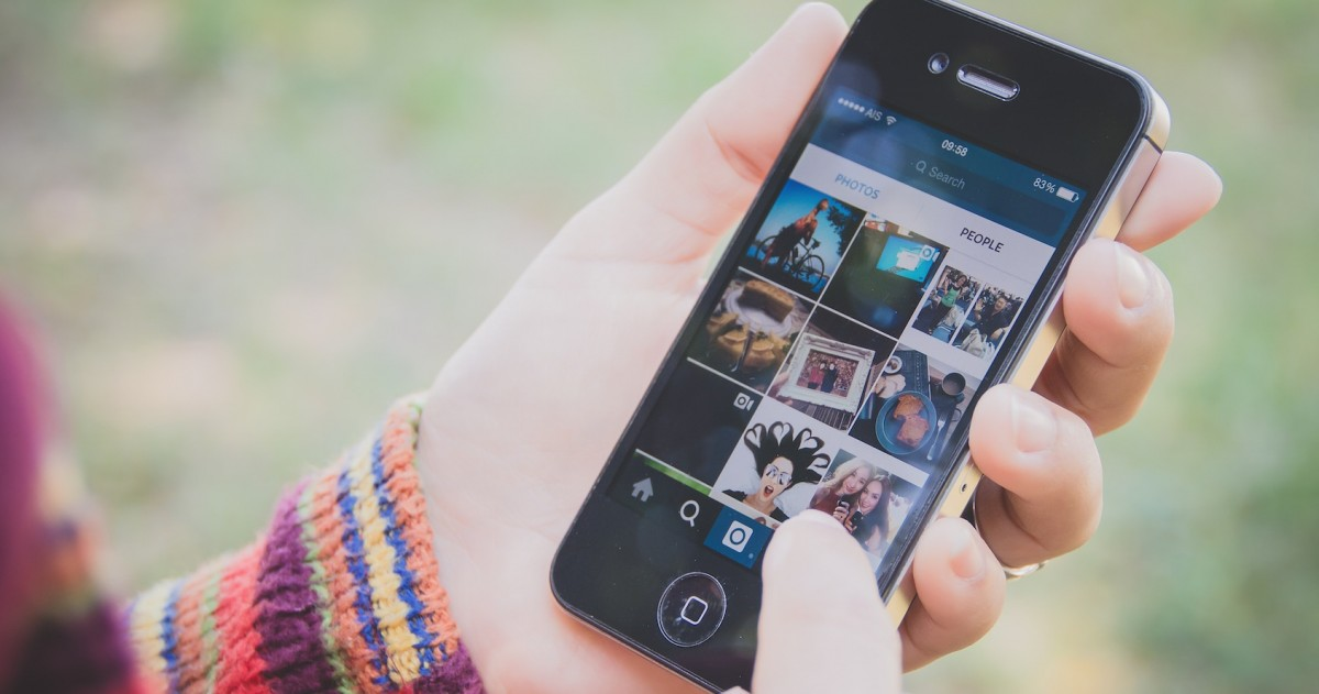 Instagram a través del mòbil