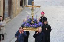 Vés a: Carrers i places de Solsona reviuen la passió i mort de Crist amb un pietós Via Crucis