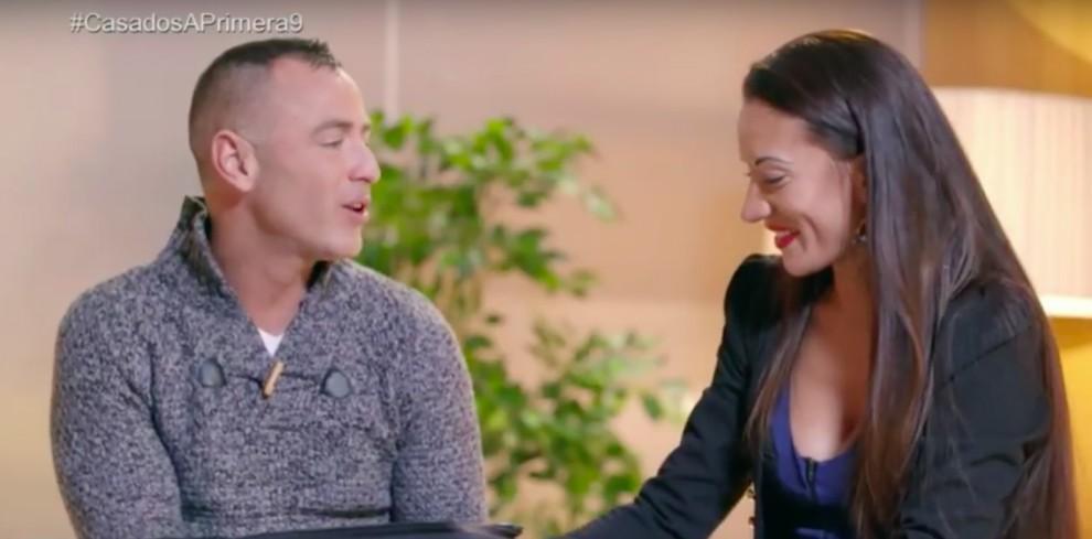 La parella formada per Jonathan i Sabrina a l'última emissió del programa