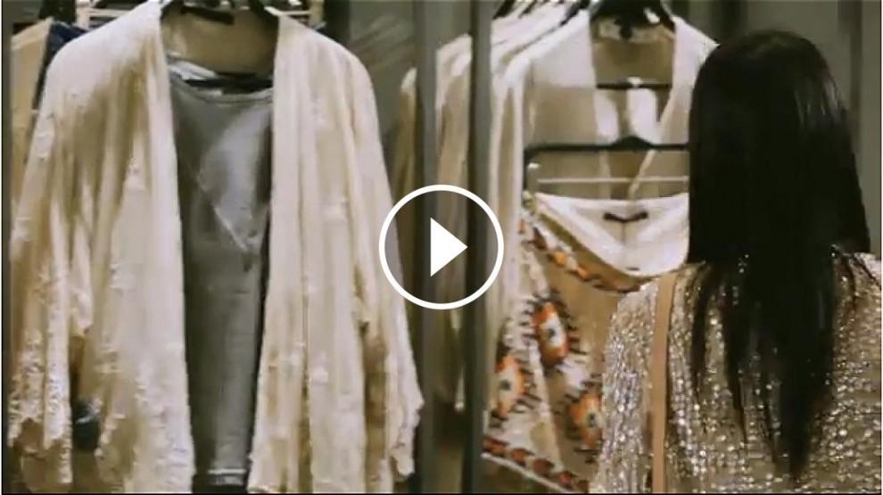Vídeo de les sorprenents alarmes del Zara