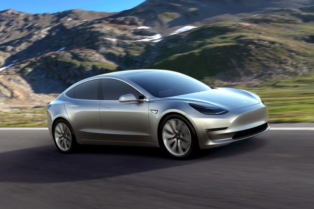 Un dels models dels vehicles elèctrics de Tesla.