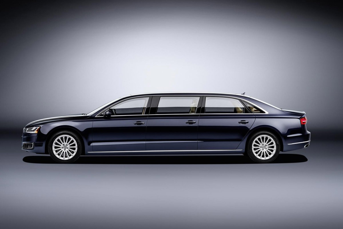 Audi A8 L Extended. Luxe per a 6 ocupants