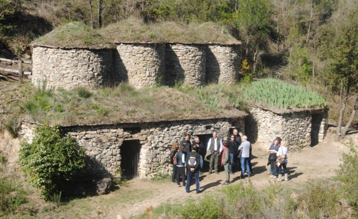 Imatge de la sortida que es va dur a terme aquest dilluns amb allotjaments i restauradors de la comarca