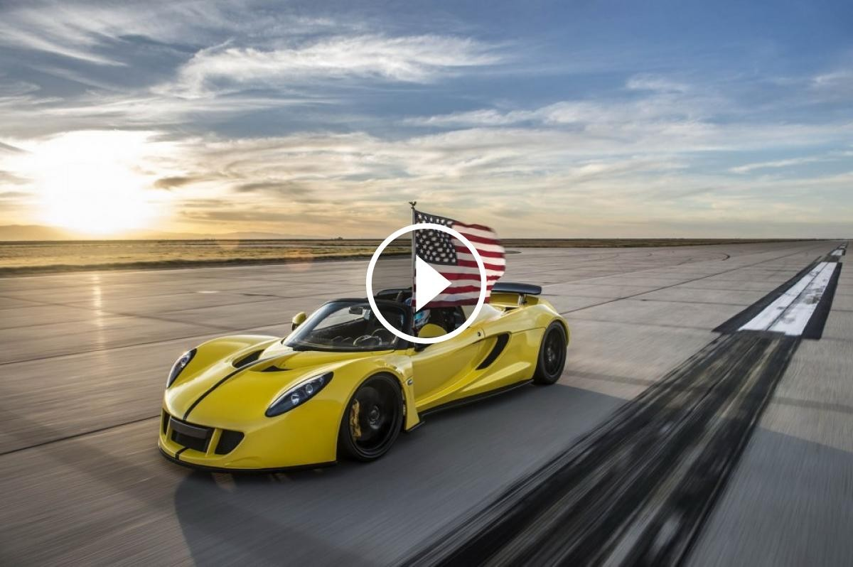 Hennessey Venom GT Spyder, el descapotable més ràpid del món