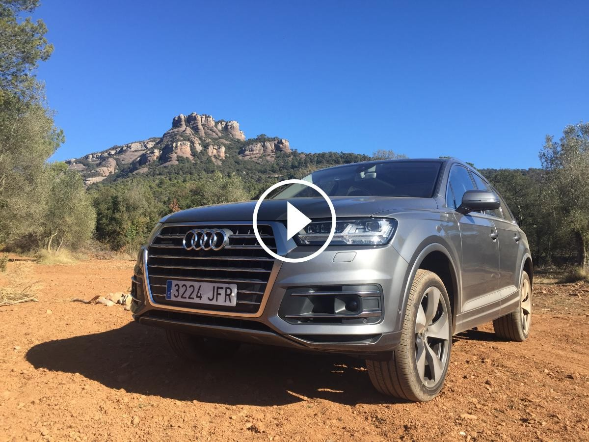 Audi Q7 3.0 Tdi Quattro per anar fins allà on vulguis