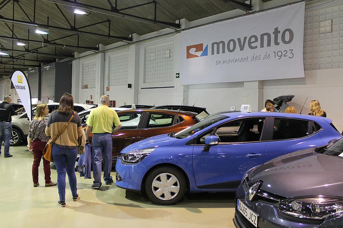 Cotxes exposats a la 19a edició de la fira Vallès Motor