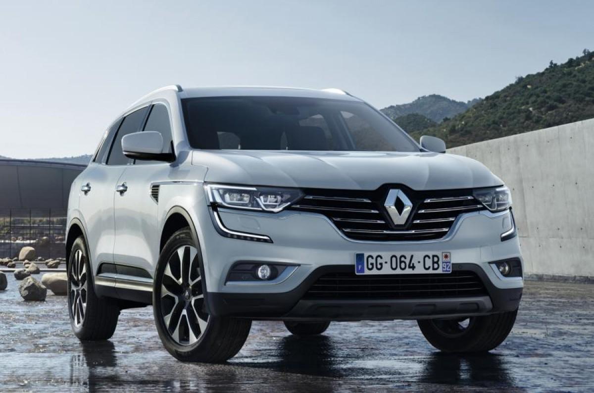 Foto espia del proper Renault Koleos