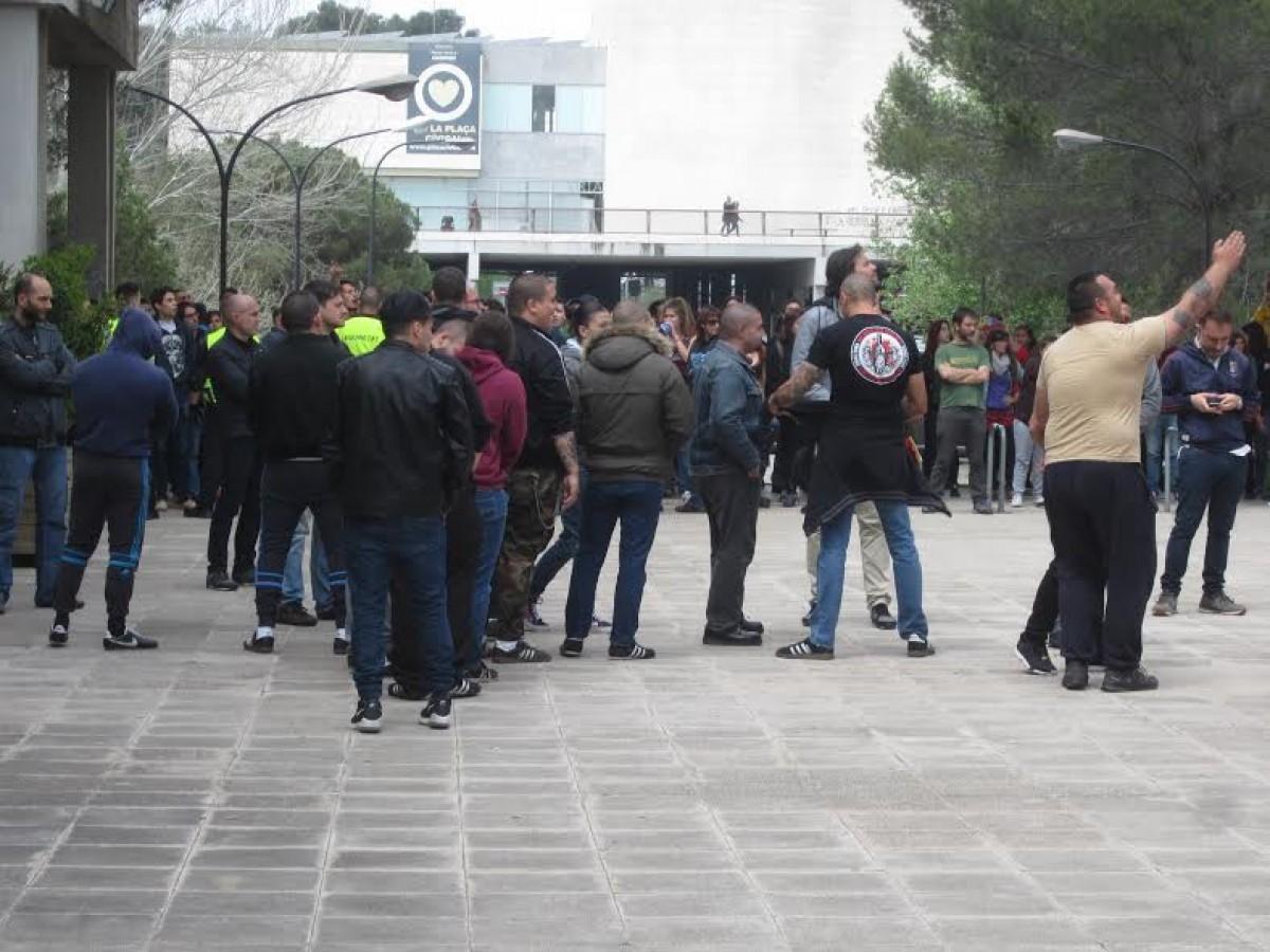 Grup feixista presumptament de Sabadell a la UAB