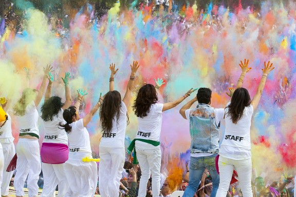 Festa Holi de Sabadell