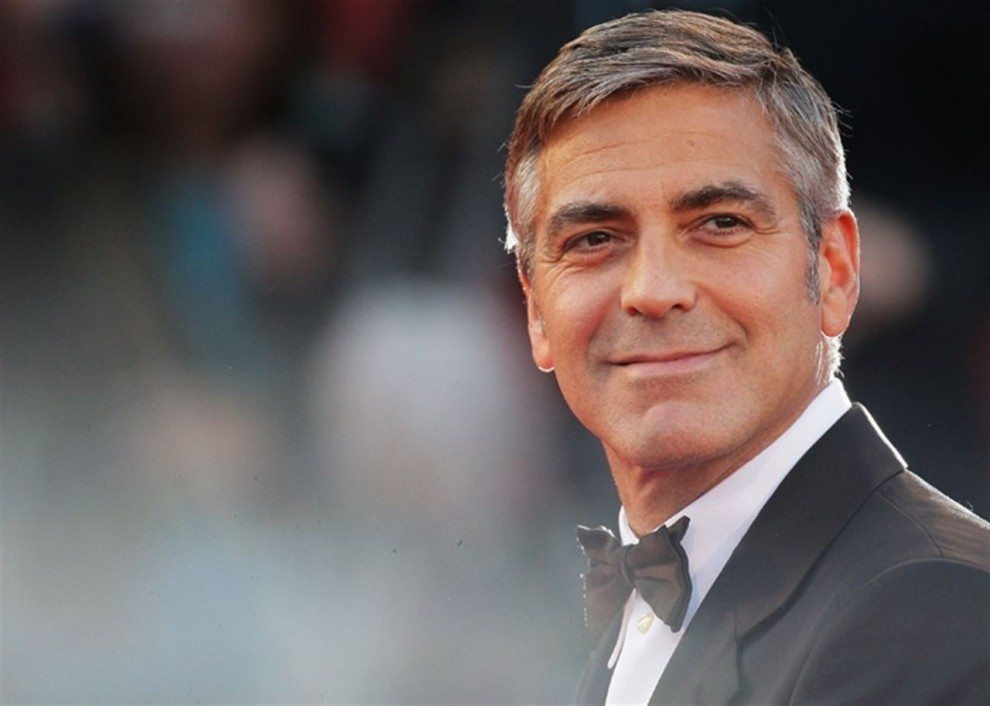 George Clooney, un atractiu actor amb canes
