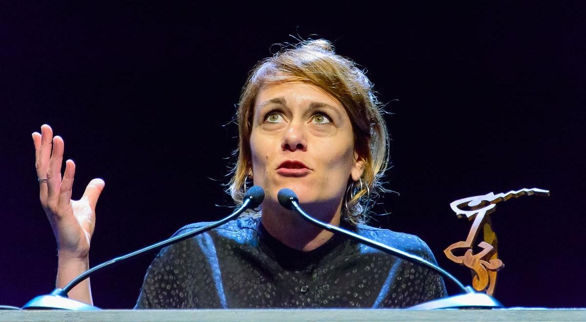 Anna Alarcón a la gala Premi BBVA de Teatre 2016
