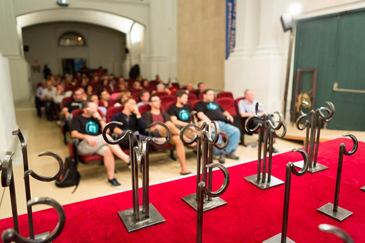 Lliurament dels premis en l'edició de l'any passat, al Museu Cerdà