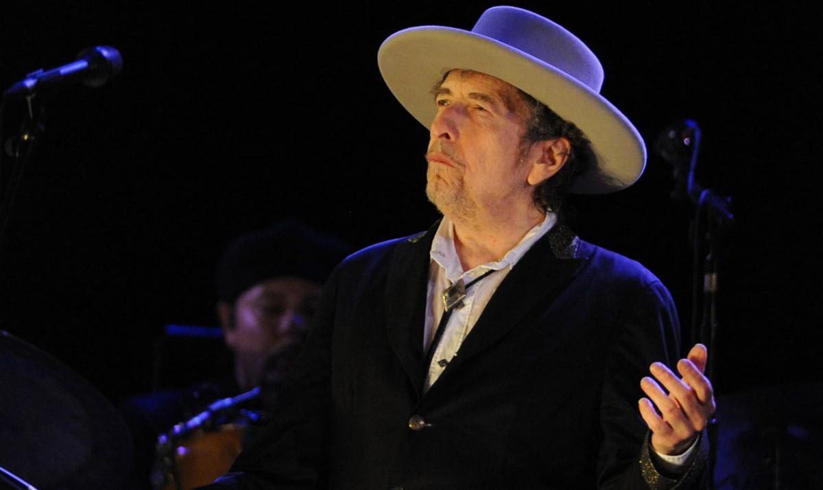 Bob Dylan, en un concert recent
