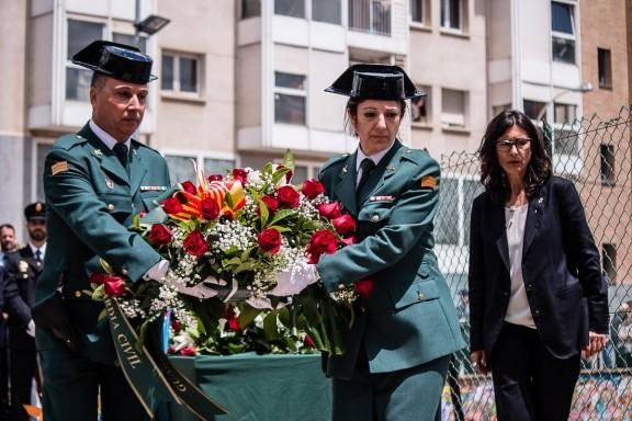 Vic commemora 25 anys de l'atemptat d'ETA a la caserna