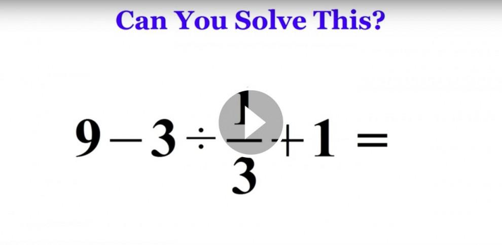 Operació matemàtica que s'ha fet viral al Japó
