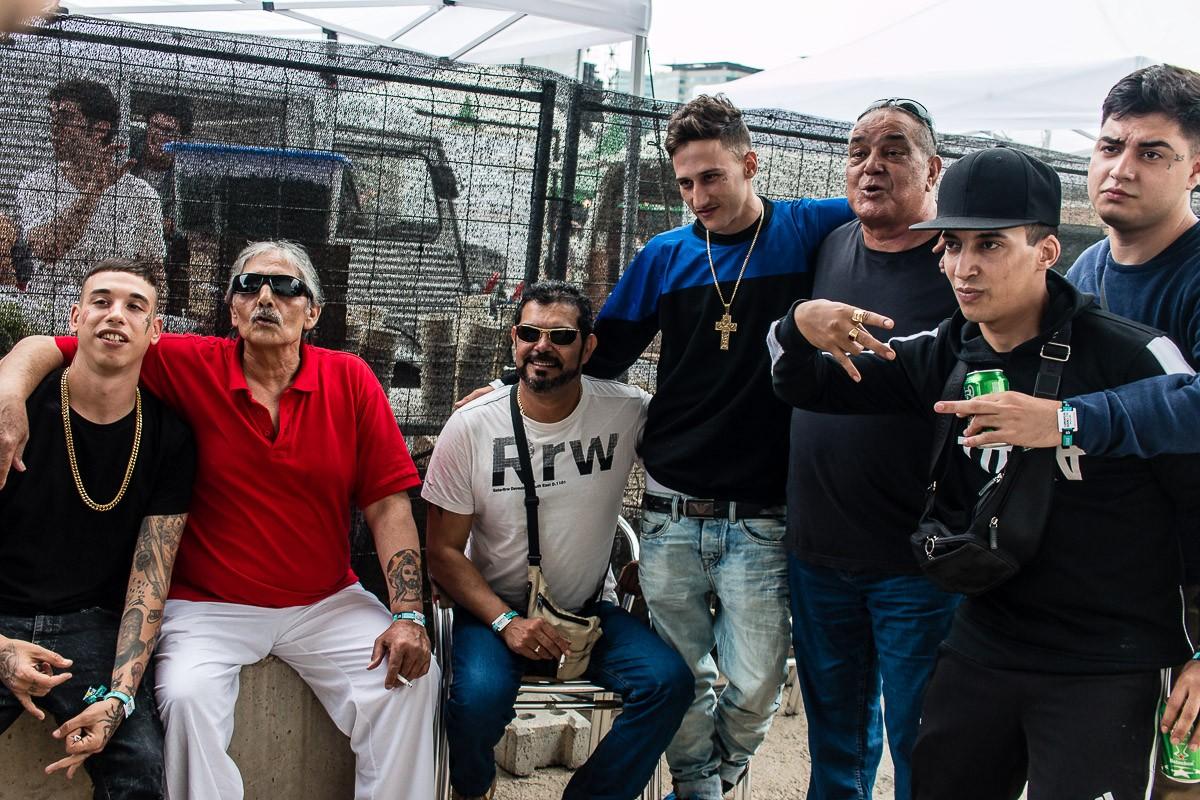 Los Chichos i PXXR GVNG, mestres i alumnes, al backstage del Primavera Sound 2016