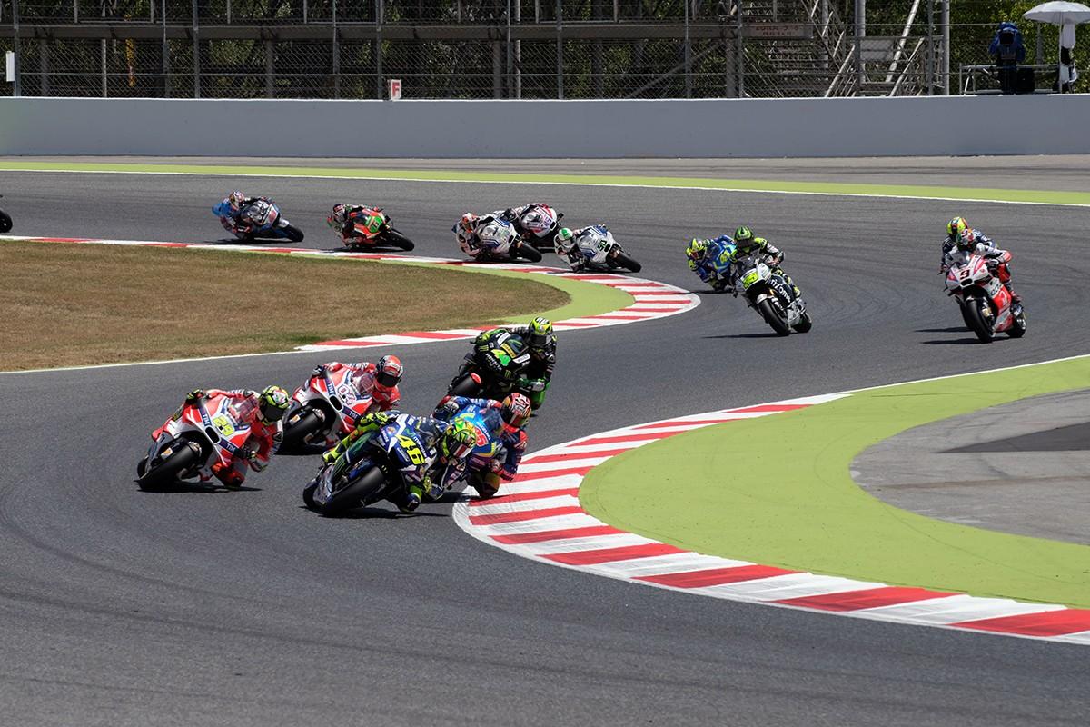Una edició del Gran Premi de Catalunya de MotoGP