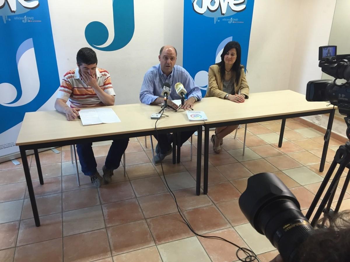 Presentació de la Universitat d'Estiu Júnior, ahir a Puigcerdà