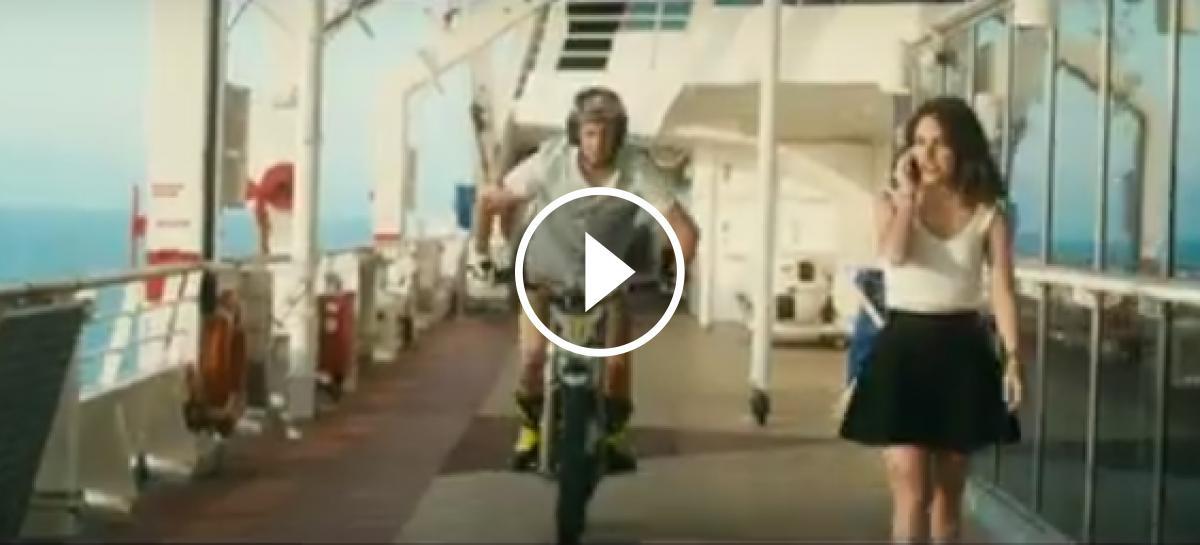 Vídeo: Adam Raga, trial a bord d'un creuer