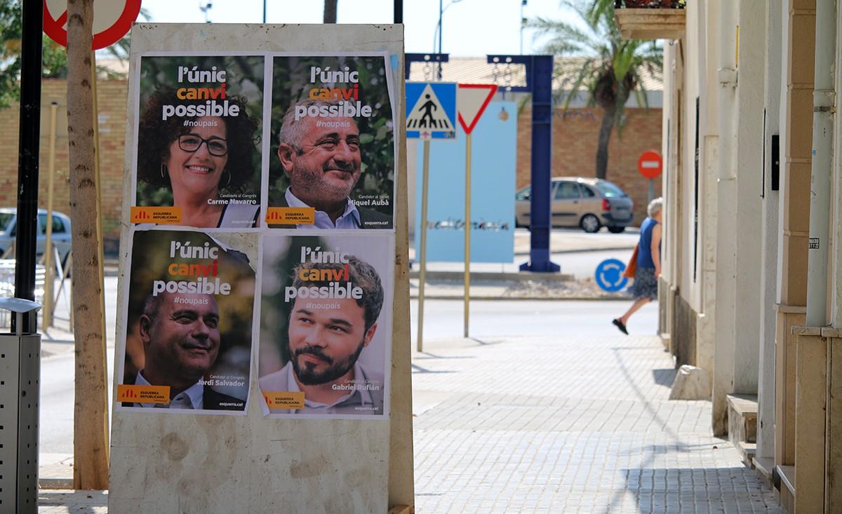 ERC s'ha procamat guanyadora, de nou, de les eleccions generals a les Terres de l'Ebre.