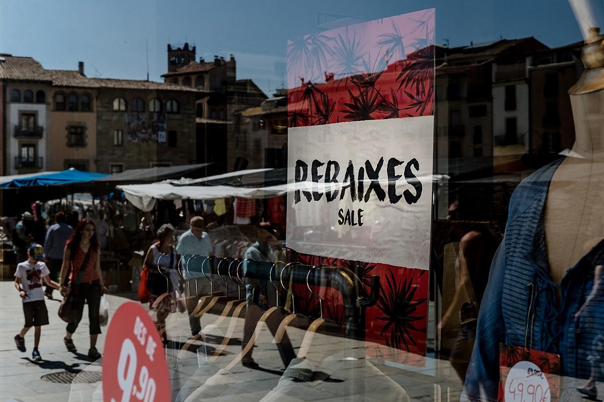 El català, també al comerç
