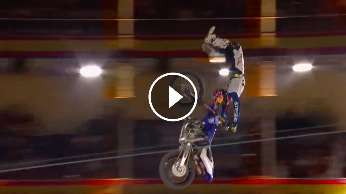 Tom Pagès realitza un impressionant «Bike Flip»
