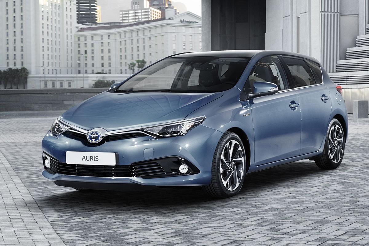 El ToyotaAuris, un dels vehicles que s'haurà de revisar.