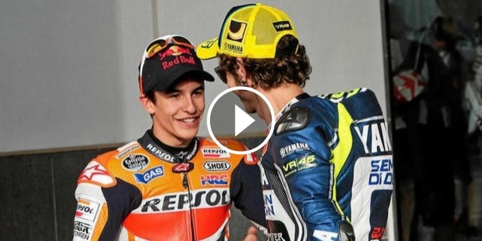 Márquez i Rossi han fet les paus