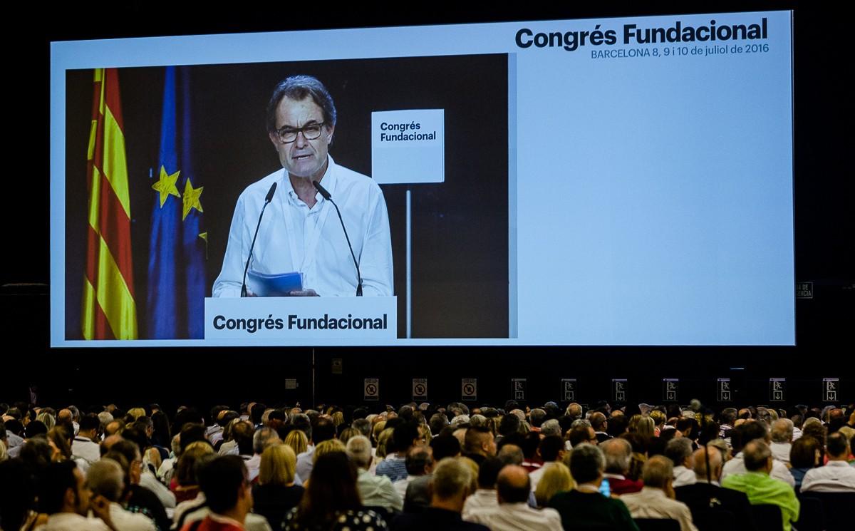 Artur Mas, al congrés de la «nova CDC», encara sense nom