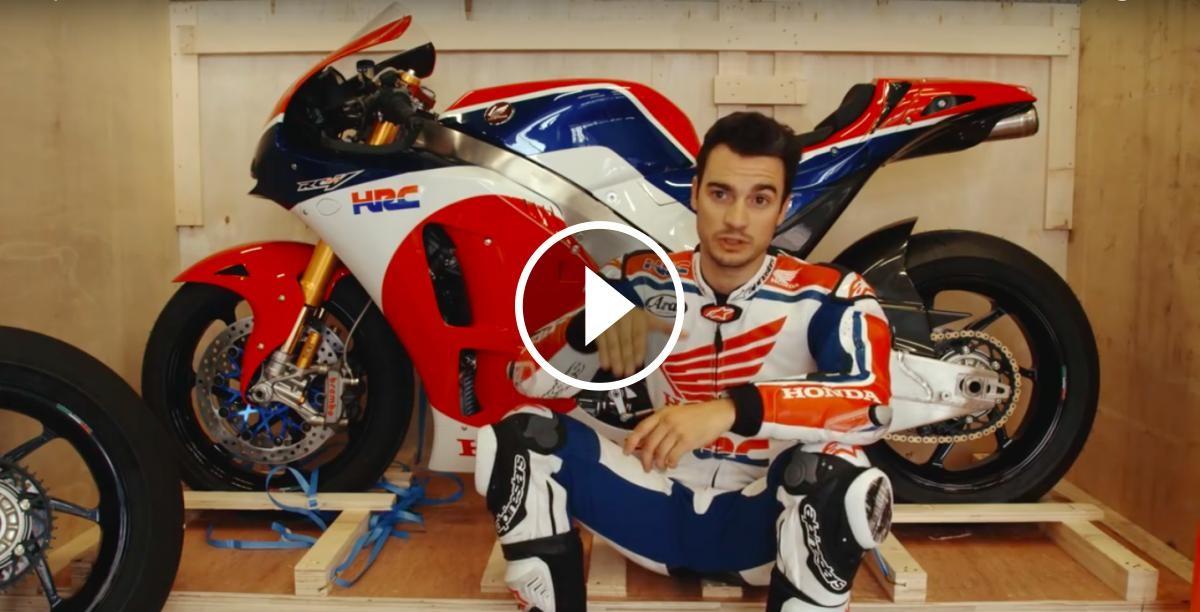 Dani Pedrosa narra una volta al Red Bull Ring
