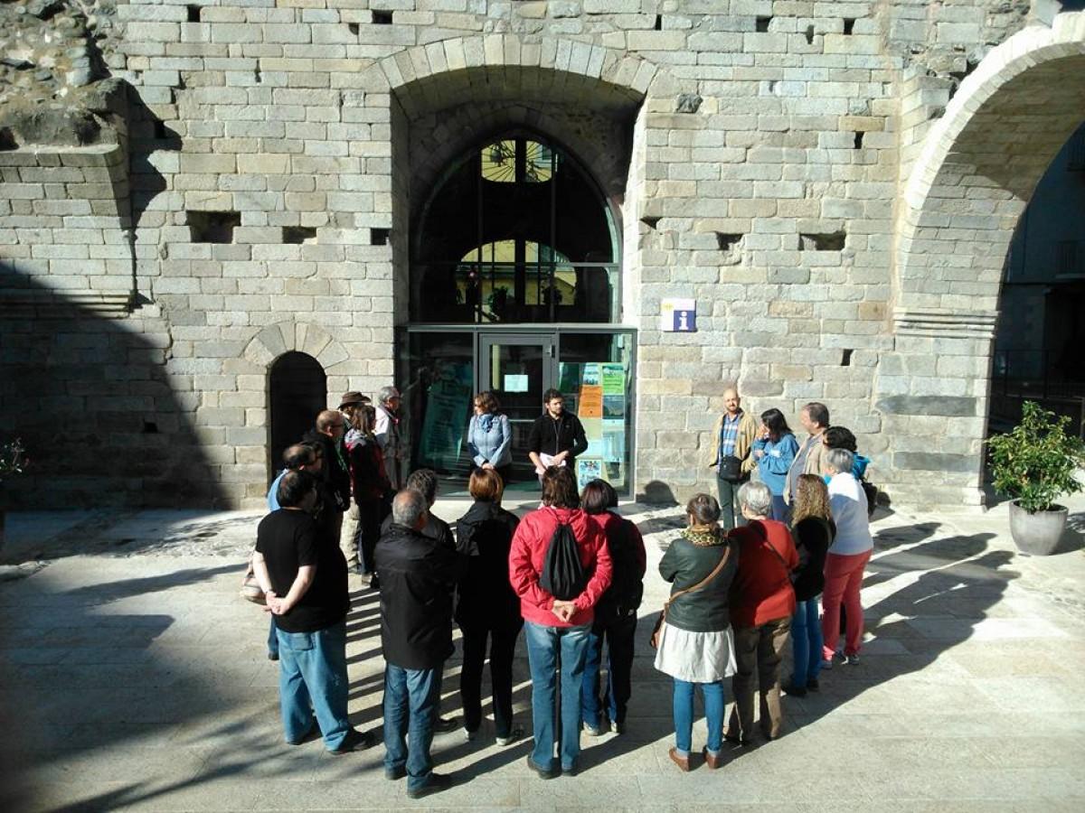 Una de les visites fetes l'any passat per Kerretània a Puigcerdà