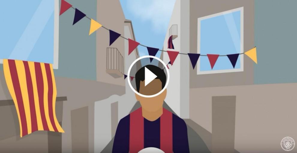 Captura del vídeo publicat pel Manchester City