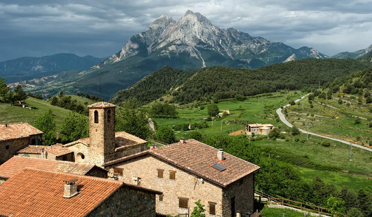Gisclareny (Berguedà), el municipi amb menys habitants de Catalunya