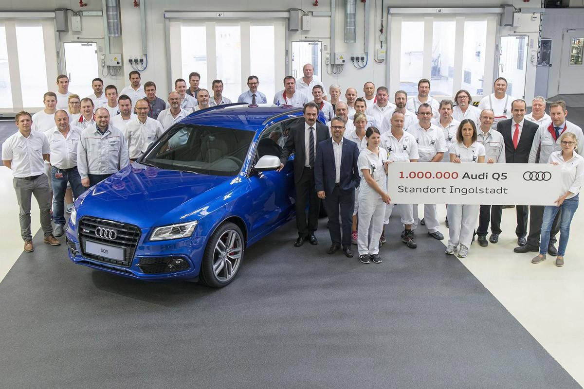 Un milió de Q5 sortits de la fàbrica Audi d'Ingolstadt
