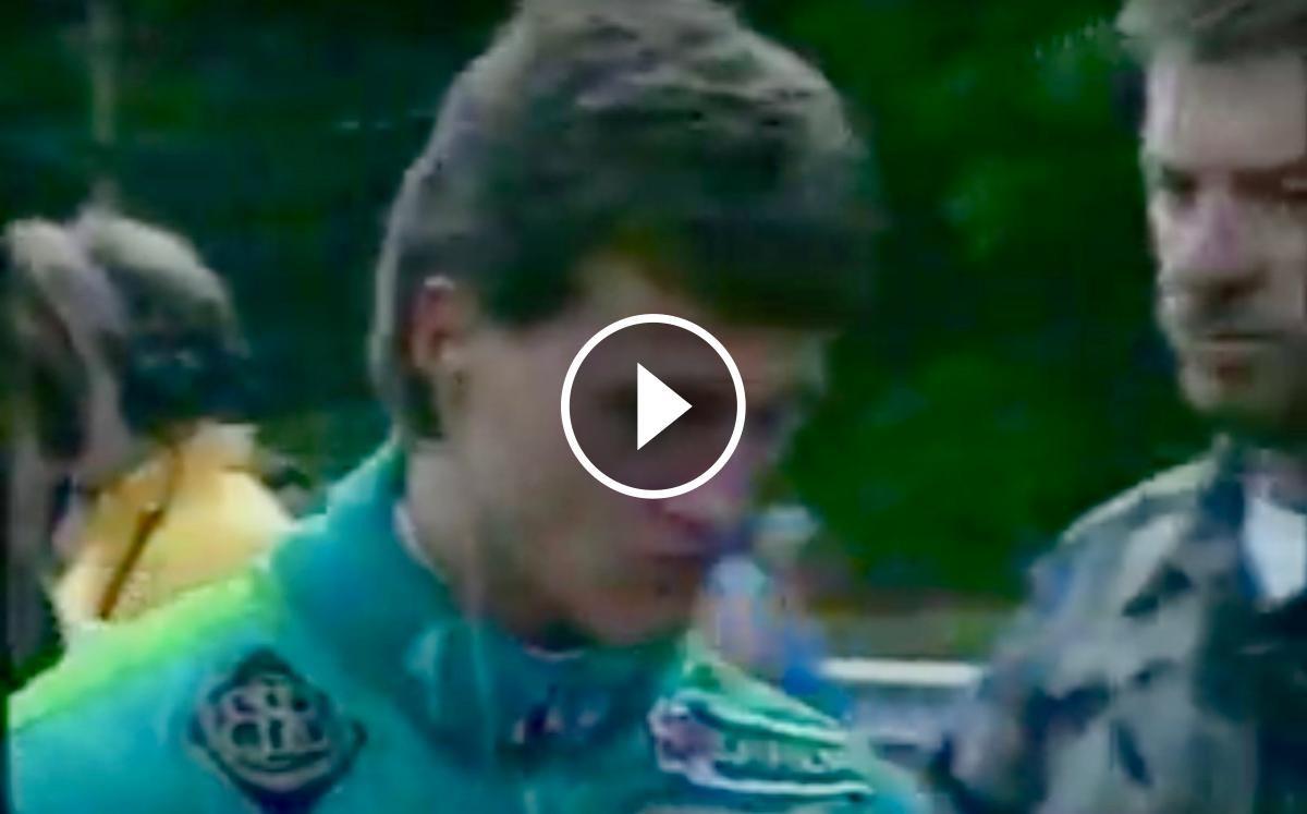 L'any 1991 Michael Schumacher va córrer per primera vegada a la Fórmula 1 amb l'escuderia Jordan