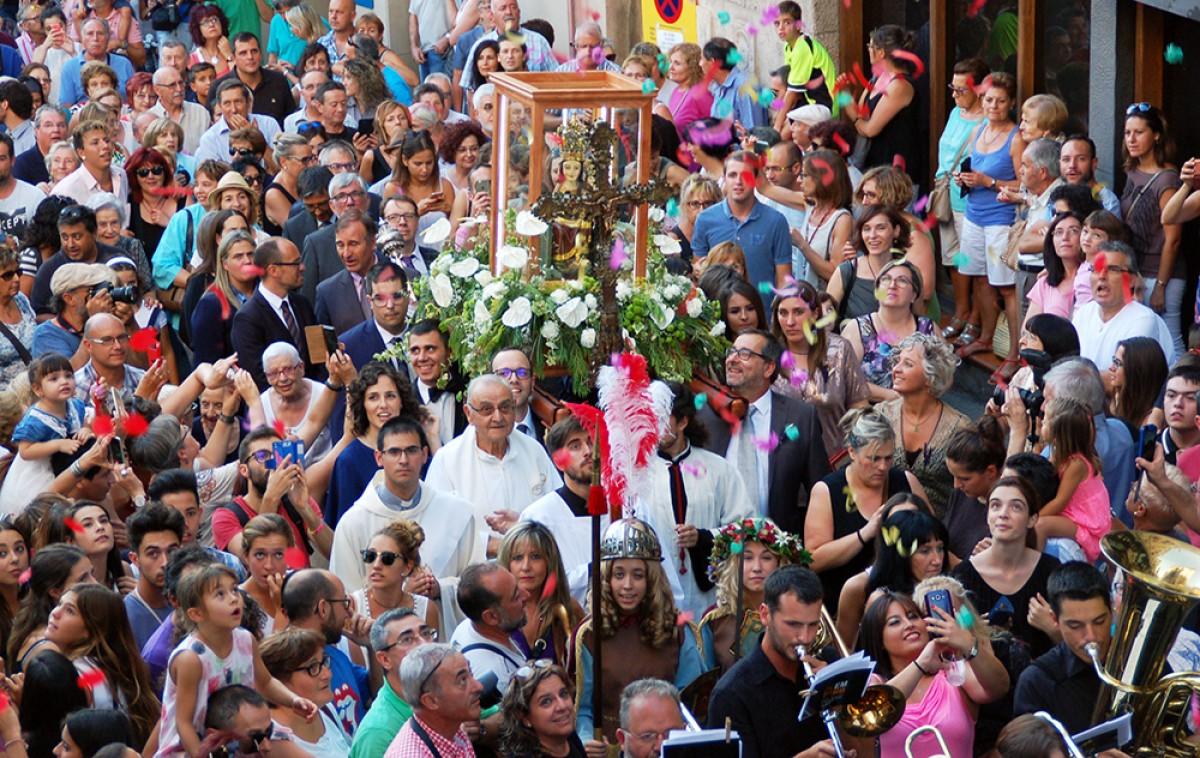 Processó del Centenari de la Coronació de la Mare de Déu de Queralt