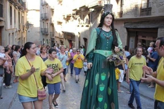 Solsona esdevè capital dels gegantons a la 19a Trobada d'aquests elements festius