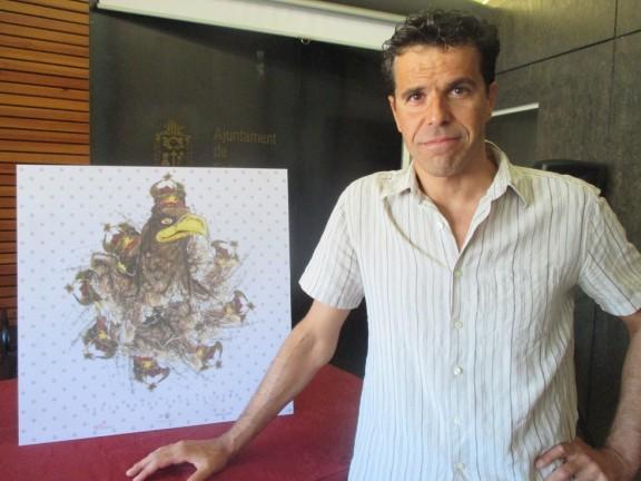 Aleix Albareda signa el cartell de la Festa Major de Solsona 2016