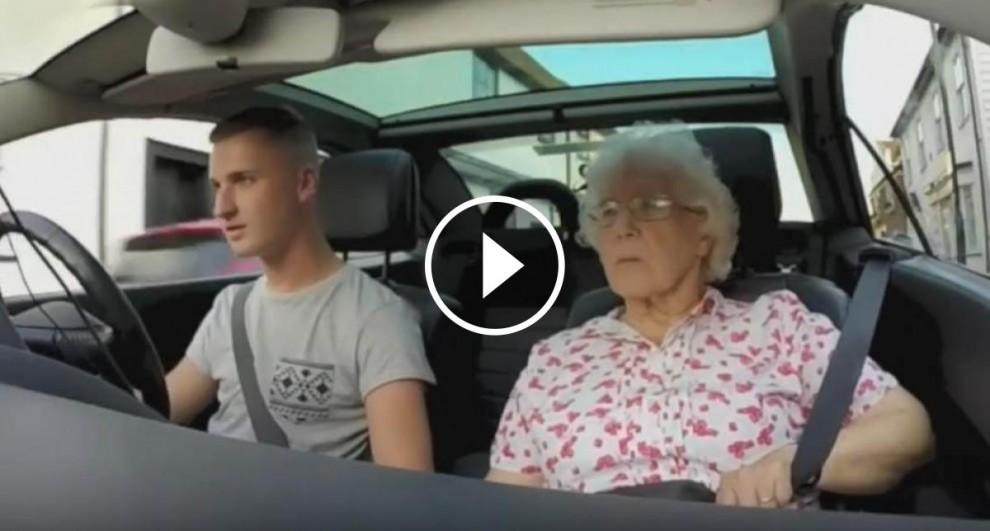 David Goodings i la seva àvia, Iris Howard