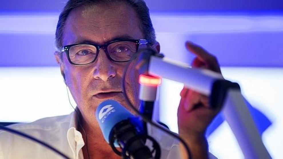 El presentador Carlos Herrera a Cadena COPE