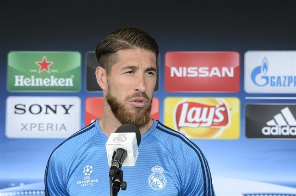 Sergio Ramos, en una imatge d'arxiu