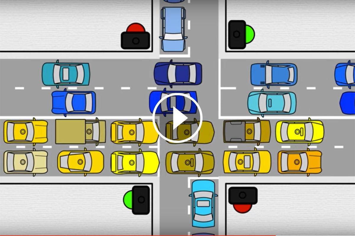 La conducció connectada promet una gestió del trànsit més eficient