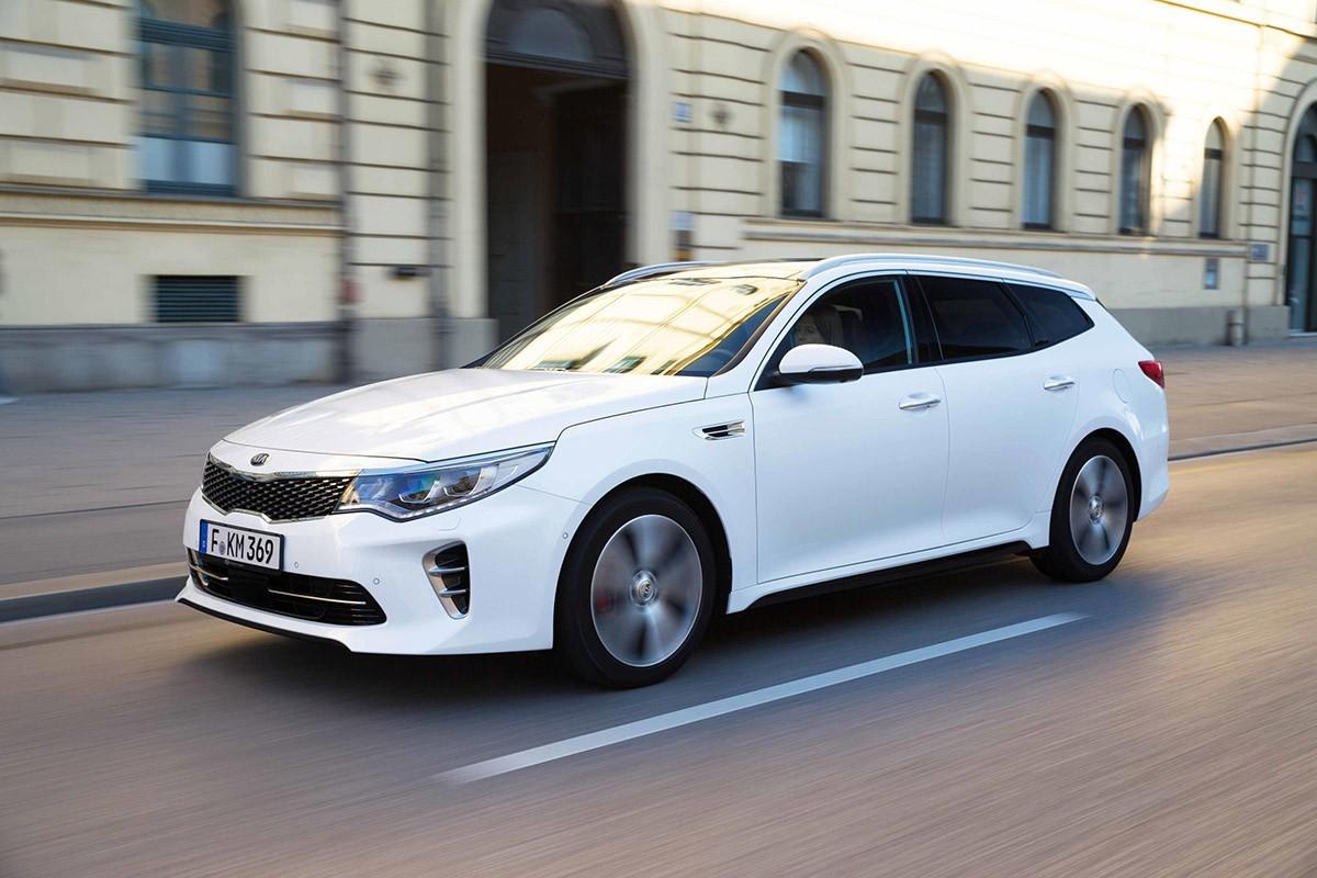 KIA presenta la versió més prestacional de l'Optima, el GT.